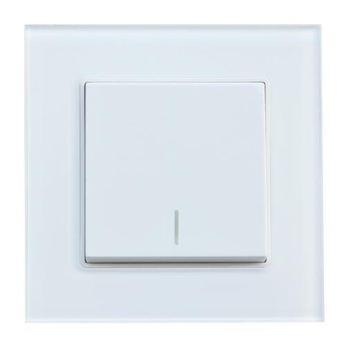 1 Gang 2 Way Switch (White)