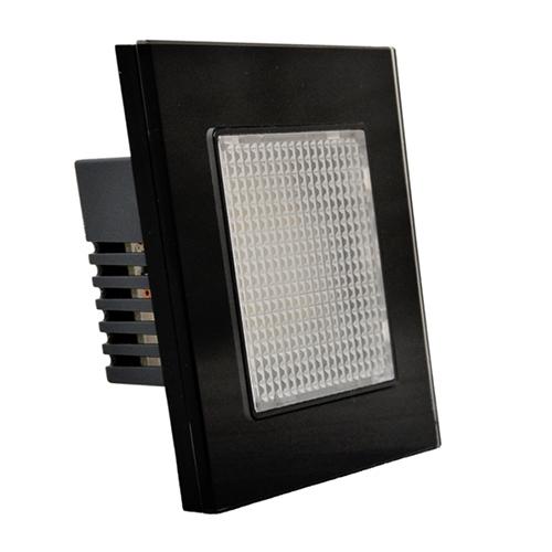 1 Gang Nightlight Switch (Black)