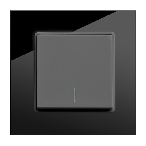 1 Gang Intermediate Switch (Black)